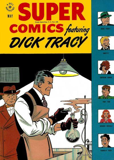 Cover for Super Comics (Dell, 1943 series) #108