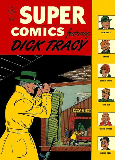 Cover for Super Comics (Dell, 1943 series) #109