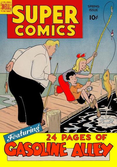 Cover for Super Comics (Dell, 1943 series) #117