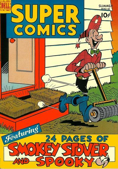 Cover for Super Comics (Dell, 1943 series) #118