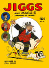 "Cover for Four Color (Dell, 1939 series) #18 - Jiggs and Maggie ""Bringing Up Father"""