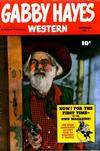 Cover for Gabby Hayes Western (Fawcett, 1948 series) #1