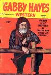 Cover for Gabby Hayes Western (Fawcett, 1948 series) #2