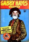Cover for Gabby Hayes Western (Fawcett, 1948 series) #3