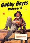 Cover for Gabby Hayes Western (Fawcett, 1948 series) #27