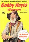 Cover for Gabby Hayes Western (Fawcett, 1948 series) #29