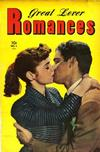 Cover for Great Lover Romances (Toby, 1951 series) #1