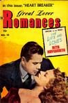 Cover for Great Lover Romances (Toby, 1951 series) #10