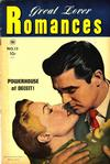 Cover for Great Lover Romances (Toby, 1951 series) #13