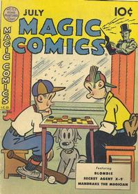 Cover Thumbnail for Magic Comics (David McKay, 1939 series) #120