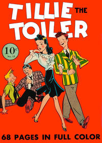 Cover Thumbnail for Four Color (Dell, 1939 series) #15 - Tillie the Toiler