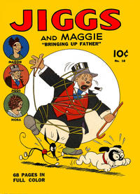 "Cover Thumbnail for Four Color (Dell, 1939 series) #18 - Jiggs and Maggie ""Bringing Up Father"""