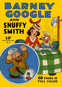 Cover Thumbnail for Four Color (Dell, 1939 series) #19 - Barney Google and Snuffy Smith
