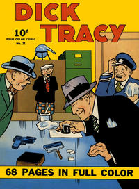 Cover Thumbnail for Four Color (Dell, 1939 series) #21 - Dick Tracy