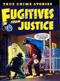 Cover Thumbnail for Fugitives from Justice (St. John, 1952 series) #1