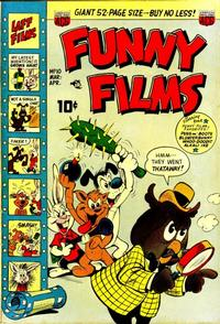 Cover Thumbnail for Funny Films (American Comics Group, 1949 series) #10