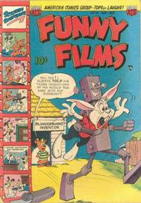 Cover Thumbnail for Funny Films (American Comics Group, 1949 series) #14