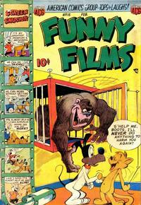 Cover Thumbnail for Funny Films (American Comics Group, 1949 series) #15