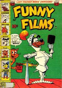 Cover Thumbnail for Funny Films (American Comics Group, 1949 series) #21