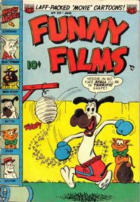 Cover Thumbnail for Funny Films (American Comics Group, 1949 series) #24