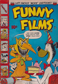 Cover Thumbnail for Funny Films (American Comics Group, 1949 series) #28