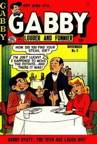 Cover Thumbnail for Gabby (Quality Comics, 1953 series) #3