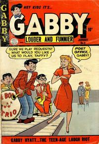 Cover Thumbnail for Gabby (Quality Comics, 1953 series) #5