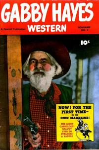 Cover Thumbnail for Gabby Hayes Western (Fawcett, 1948 series) #1