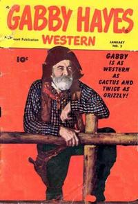 Cover Thumbnail for Gabby Hayes Western (Fawcett, 1948 series) #2
