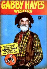 Cover Thumbnail for Gabby Hayes Western (Fawcett, 1948 series) #3