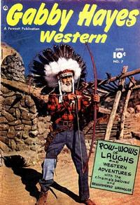 Cover Thumbnail for Gabby Hayes Western (Fawcett, 1948 series) #7