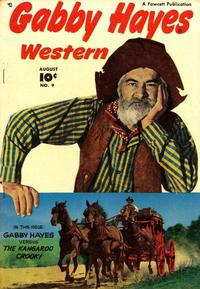Cover Thumbnail for Gabby Hayes Western (Fawcett, 1948 series) #9