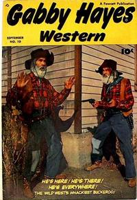 Cover Thumbnail for Gabby Hayes Western (Fawcett, 1948 series) #10