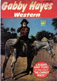 Cover Thumbnail for Gabby Hayes Western (Fawcett, 1948 series) #11
