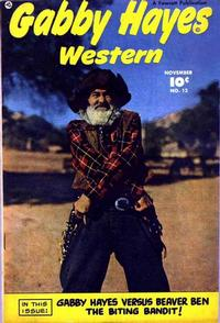 Cover Thumbnail for Gabby Hayes Western (Fawcett, 1948 series) #12