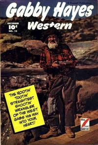 Cover Thumbnail for Gabby Hayes Western (Fawcett, 1948 series) #13