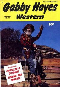 Cover Thumbnail for Gabby Hayes Western (Fawcett, 1948 series) #14