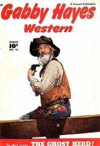 Cover Thumbnail for Gabby Hayes Western (Fawcett, 1948 series) #16