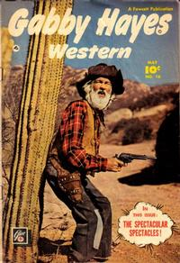 Cover Thumbnail for Gabby Hayes Western (Fawcett, 1948 series) #18