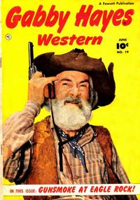 Cover Thumbnail for Gabby Hayes Western (Fawcett, 1948 series) #19