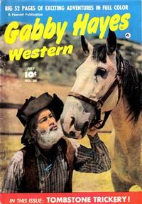 Cover Thumbnail for Gabby Hayes Western (Fawcett, 1948 series) #20