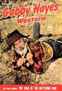 Cover Thumbnail for Gabby Hayes Western (Fawcett, 1948 series) #23