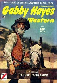 Cover Thumbnail for Gabby Hayes Western (Fawcett, 1948 series) #24