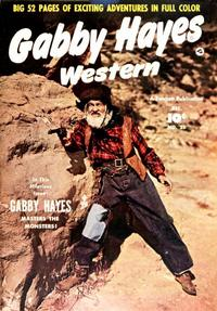Cover Thumbnail for Gabby Hayes Western (Fawcett, 1948 series) #25