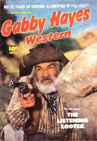 Cover Thumbnail for Gabby Hayes Western (Fawcett, 1948 series) #26