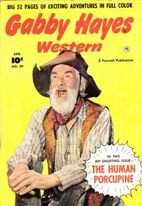 Cover Thumbnail for Gabby Hayes Western (Fawcett, 1948 series) #29