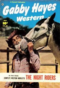 Cover Thumbnail for Gabby Hayes Western (Fawcett, 1948 series) #30