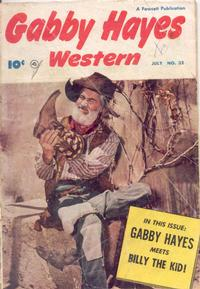 Cover Thumbnail for Gabby Hayes Western (Fawcett, 1948 series) #32