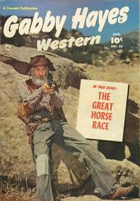 Cover Thumbnail for Gabby Hayes Western (Fawcett, 1948 series) #33