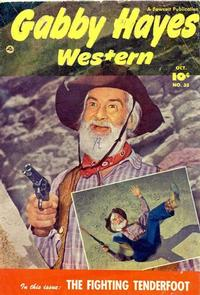 Cover Thumbnail for Gabby Hayes Western (Fawcett, 1948 series) #35